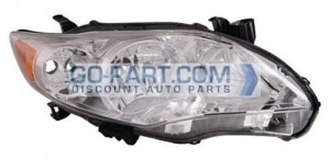 2011-2012 Toyota Corolla Headlight Assembly - Right (Passenger)