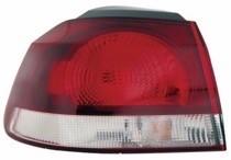 2010-2014 Volkswagen Golf / GTI / GTA Tail Light Rear Lamp - Left (Driver)
