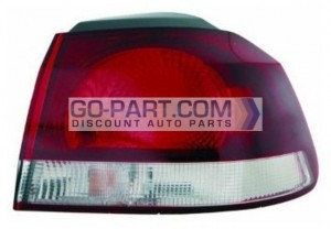 2010-2011 Volkswagen Golf / GTI / GTA Tail Light Rear Lamp - Right (Passenger)