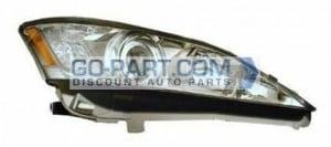 2010-2011 Lexus ES350 Headlight Assembly - Right (Passenger)