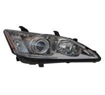 2010 - 2011 Lexus ES350 Front Headlight Assembly Replacement Housing / Lens / Cover - Left (Driver)