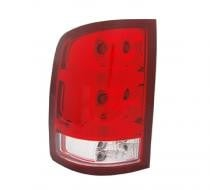 2010 - 2012 GMC Sierra Pickup Rear Tail Light Assembly Replacement / Lens / Cover - Right (Passenger)