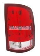 2010-2011 GMC Sierra Pickup Tail Light Rear Brake Lamp - Right (Passenger)