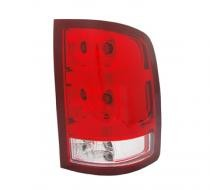 2010 - 2012 GMC Sierra Pickup Rear Tail Light Assembly Replacement / Lens / Cover - Left (Driver)