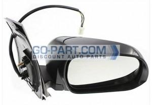 2011-2012 Toyota Sienna Van Side View Mirror - Right (Passenger)