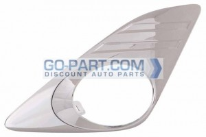 2012-2012 Toyota Camry Front Bumper Insert - Left (Driver)