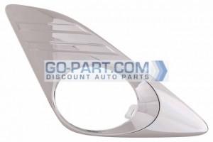 2012-2012 Toyota Camry Hybrid Front Bumper Insert - Right (Passenger)