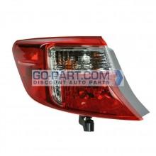 2012-2012 Toyota Camry Tail Light Rear Brake Lamp - Left (Driver)