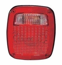 1987 - 1990 Jeep Wrangler Tail Light Rear Lamp - Right (Passenger)