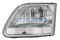 2001-2004 Ford F-Series Heritage Pickup Headlight Assembly - Left (Driver)