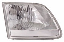 2001 - 2004 Ford F-Series Heritage Pickup Headlight Assembly - Left (Driver)
