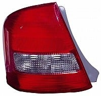1999 - 2003 Mazda Protege Rear Tail Light Assembly Replacement / Lens / Cover - Left (Driver)