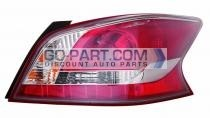 2013-2013 Nissan Altima Tail Light Rear Lamp - Right (Passenger)