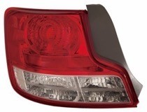 2012-2013 Scion tC Tail Light Rear Lamp - Left (Driver)