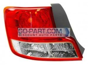 2012-2012 Scion tC Tail Light Rear Lamp - Left (Driver)