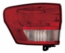 2011 - 2013 Jeep Grand Cherokee Tail Light Rear Lamp - Left (Driver)