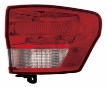 2011 - 2013 Jeep Grand Cherokee Rear Tail Light Assembly Replacement / Lens / Cover - Right (Passenger)