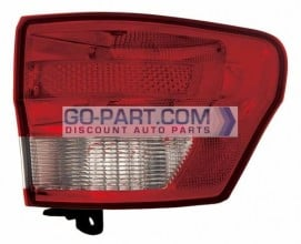 2011-2012 Jeep Grand Cherokee Tail Light Rear Lamp - Right (Passenger)