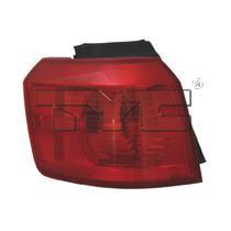 2010 - 2015 GMC Terrain Tail Light Rear Lamp - Left (Driver)