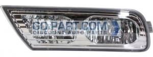 2010-2012 Acura MDX Fog Light Lamp - Left (Driver)