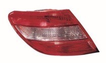2008 - 2011 Mercedes Benz C350 Rear Tail Light Assembly Replacement / Lens / Cover - Left (Driver)