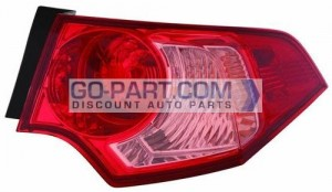 2011-2012 Acura TSX Tail Light Rear Lamp - Right (Passenger)