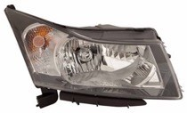 2012 - 2015 Chevrolet (Chevy) Cruze Headlight Assembly - Right (Passenger)