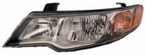 2009 Kia Forte Front Headlight Assembly Replacement Housing / Lens / Cover - Left (Driver)