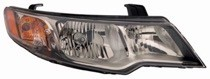 2009 - 2012 Kia Forte Front Headlight Assembly Replacement Housing / Lens / Cover - Right (Passenger)