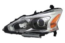 2013 - 2015 Nissan Altima Headlight Assembly - Left (Driver)