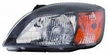 2010 - 2011 Kia Rio5 Headlight Assembly - Left (Driver)