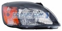 2010-2011 Kia Rio Headlight Assembly - Right (Passenger)
