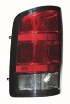 2007 - 2010 GMC Sierra Pickup Rear Tail Light Assembly Replacement / Lens / Cover - Left (Driver)