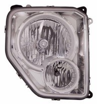 2008 - 2012 Jeep Liberty Front Headlight Assembly Replacement Housing / Lens / Cover - Right (Passenger)
