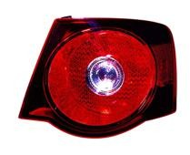 2008 - 2010 Volkswagen Jetta Rear Tail Light Assembly Replacement / Lens / Cover - Right (Passenger)