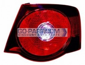 2008-2010 Volkswagen Jetta Tail Light Rear Lamp - Right (Passenger)