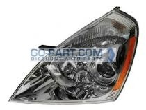 2007-2007 Kia Sedona Headlight Assembly - Left (Driver)