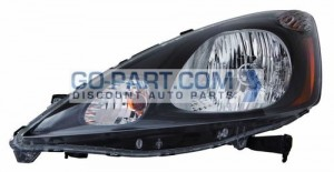 2012-2012 Honda Fit Headlight Assembly - Left (Driver)