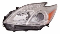 2012 - 2015 Toyota Prius Headlight Assembly - Left (Driver)
