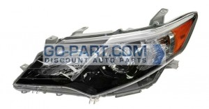 2012-2013 Toyota Camry Headlight Assembly - Left (Driver)