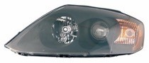 2005 Hyundai Tiburon Front Headlight Assembly Replacement Housing / Lens / Cover - Left (Driver)
