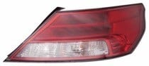 2012 - 2014 Acura TL Rear Tail Light Assembly Replacement / Lens / Cover - Right (Passenger)