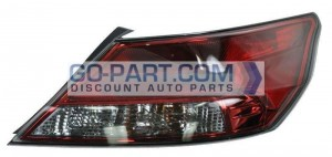 2012-2012 Acura TL Tail Light Rear Lamp - Right (Passenger)