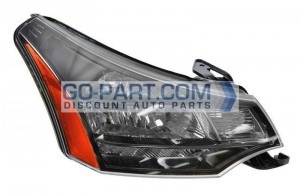 2010-2011 Ford Focus Headlight Assembly - Right (Passenger)