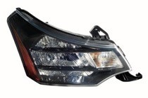 2009 - 2010 Ford Focus Front Headlight Assembly Replacement Housing / Lens / Cover - Right (Passenger)