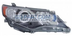 2012-2012 Toyota Camry Headlight Assembly - Right (Passenger)
