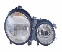 2000 - 2003 Mercedes Benz E320 Front Headlight Assembly Replacement Housing / Lens / Cover - Right (Passenger)