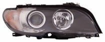 2003 - 2006 BMW 325i Front Headlight Assembly Replacement Housing / Lens / Cover - Right (Passenger)