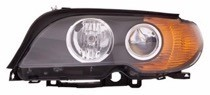 2003 - 2006 BMW 325i Headlight Assembly - Left (Driver)