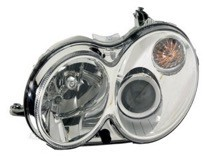 2006 Mercedes Benz CLK500 Headlight Assembly - Left (Driver)